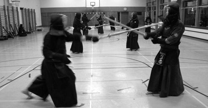 """Zu Gast beim Schweizer Kendo Club """"Tshiku Sei Kan"""" in Basel"""