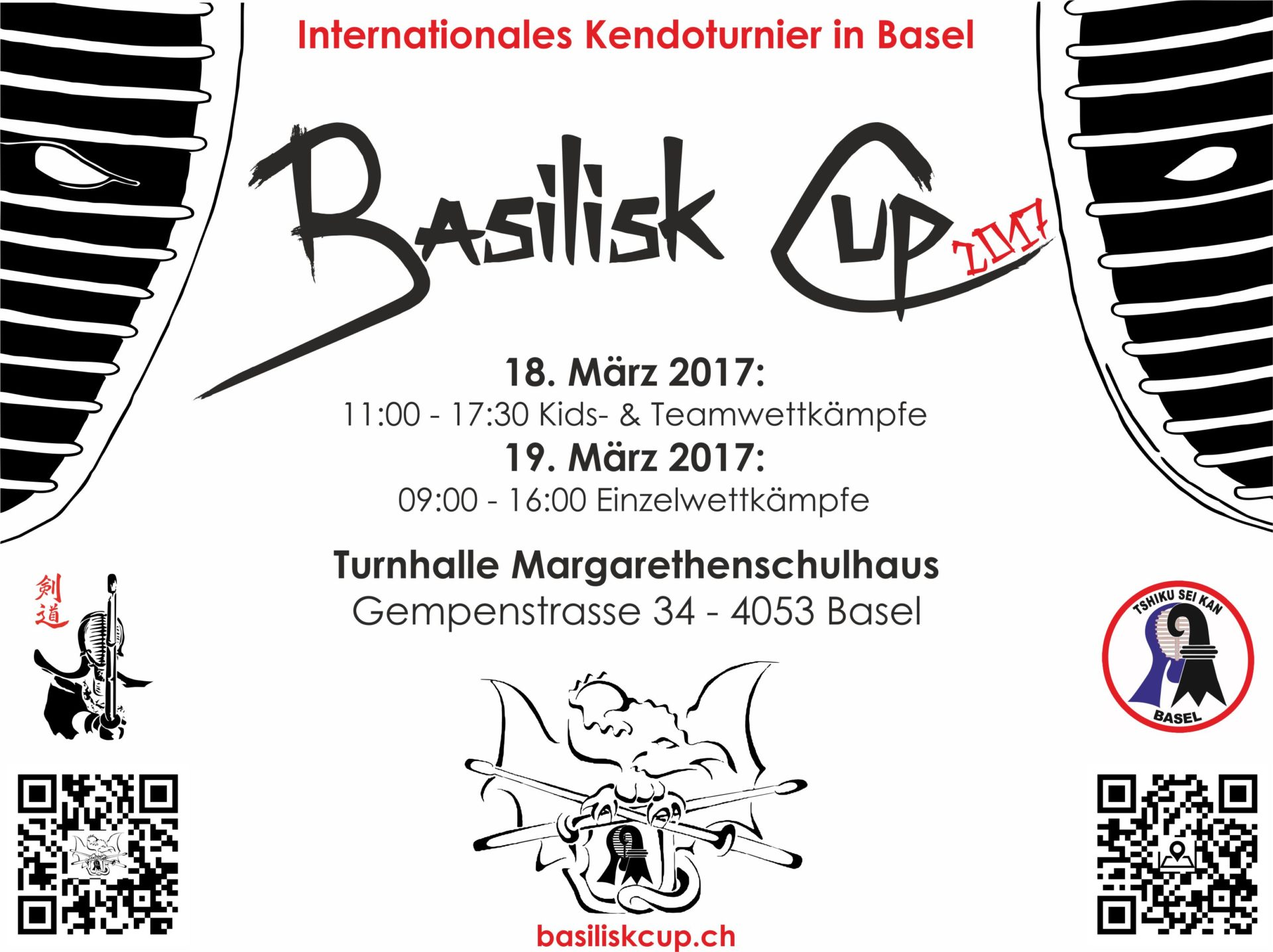 Basiliskcup 2017: Bitte anmelden!
